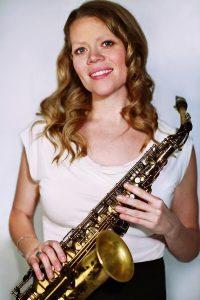 Saxophonist Caroline Davis