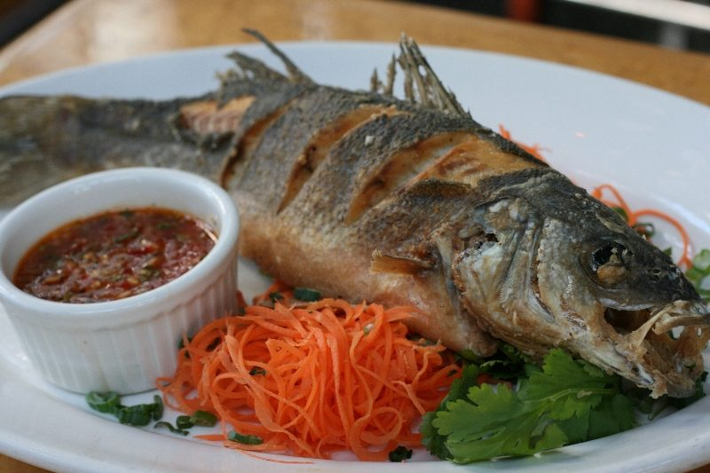 Food drink archives catch 35 seafood restaurant for Branzino fish recipes