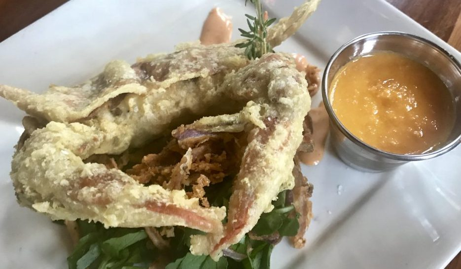 Maryland soft shell crab